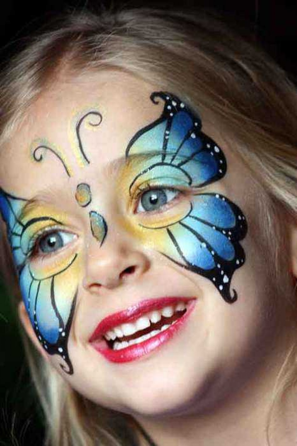 Uncategorized Face Painting Butterfly butterfly face painting sparkles funtainment painting